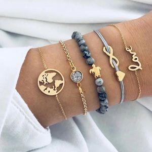 JUST IN🌷 Life Bracelets Set